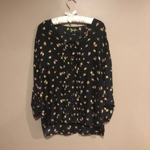 🎀 Yumi Kim patterned blouse sz XS